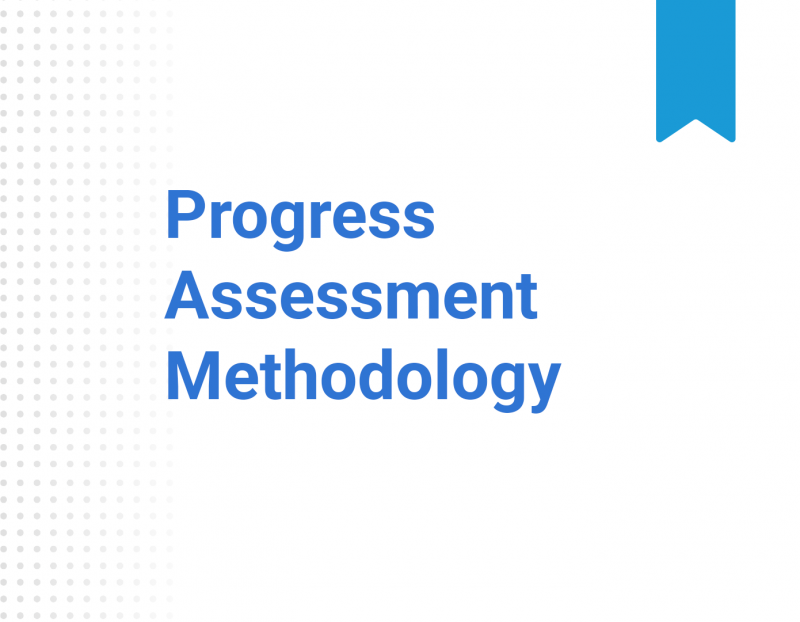 Progress Assessment Methodology
